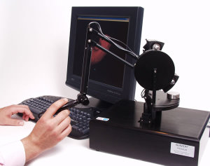 A current model of the Phantom device from SensAble Technologies.