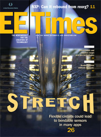 Stretch: EE Times cover, 22 September 2008.