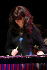 Evelyn Glennie, from her website.